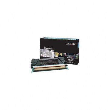 Originale Lexmark C746H1KG Toner alta resa return program C746, C748 nero