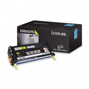 Originale Lexmark X560A2YG Toner giallo