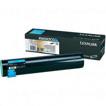 Originale Lexmark X945X2CG Toner alta resa ciano
