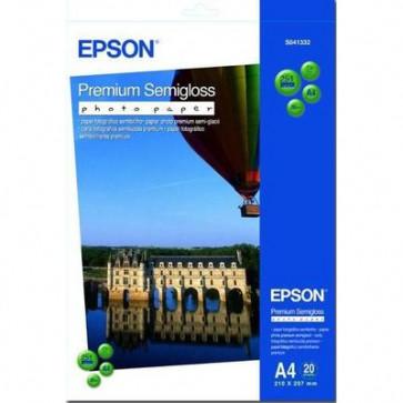 Carta speciali Epson 69400 premium semilucida 251 g A4 inkjet C13S041332 (conf.20)