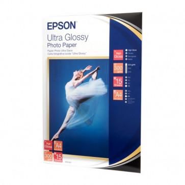 Carta Fotografica Lucida Ultra Epson A4 C13S041927 (conf.15)