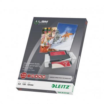 iLAM Pouches UDT 175/175 micron 30.3X42.6 cm A3 74900000 (conf.100)
