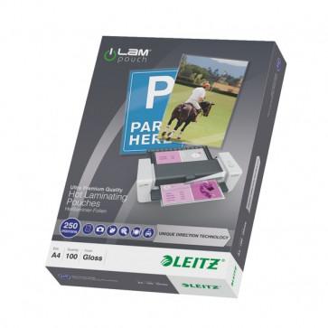 iLAM Pouches UDT 250/250 micron 21.6x30.3 cm A4 74840000 (conf.100)