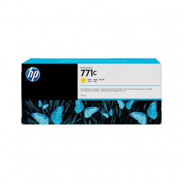 Originale HP B6Y10A Cartuccia inkjet 771C ml 775 giallo