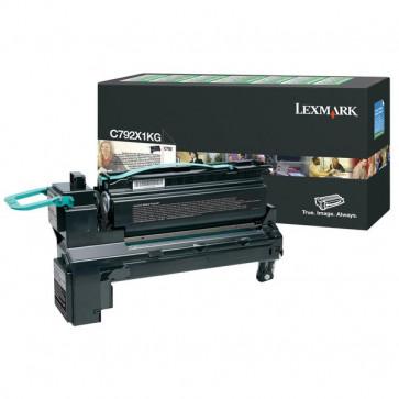 Originale Lexmark C792X1KG Toner altissima resa C792 nero