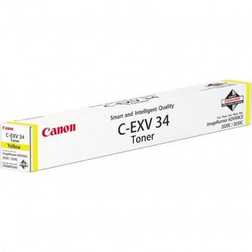 Originale Canon 3785B002AA Toner C-EXV34 giallo