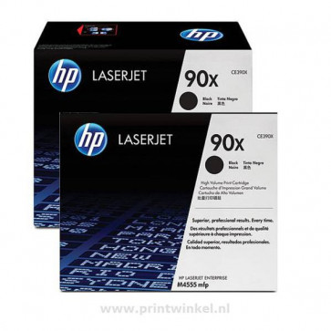Originale HP CE390XD Conf. 2 toner alta capacità 90X nero