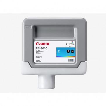 Originale Canon 1487B001AA Serbatoio PFI-301C ciano