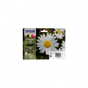 Originale Epson C13T18064010 Conf. 4 cartucce inkjet SERIE 18 n+c+m+g