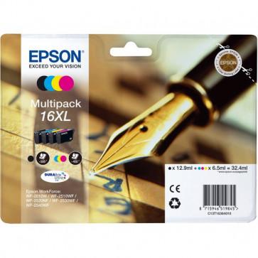 Originale Epson C13T16364010 Conf. 4 cartucce inkjet A.R. SERIE 16XL n+c+m+g