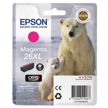 Originale Epson C13T26334010 Cartuccia inkjet A.R. 26XL magenta