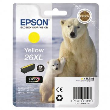 Originale Epson C13T26344010 Cartuccia inkjet A.R. 26XL giallo
