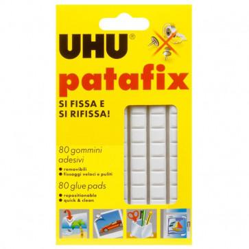 Gomma adesiva UHU® Patafix bianco 10x17 cm D1573 (conf.80)
