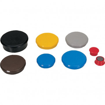 Magneti per lavagne Dahle ø 32 mm rosso R955323 (conf.10)