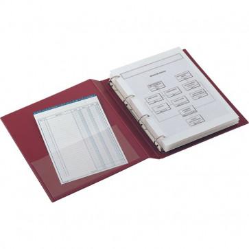 Raccoglitori S. Remo 2000 a 4 anelli Sei Rota Anelli D Ø 40 mm 22x30 cm blu 34408407