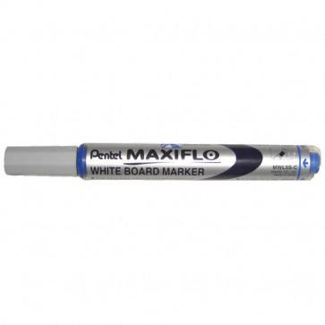 Marcatore Maxiflo Pentel blu tonda 4 mm MWL5S-C