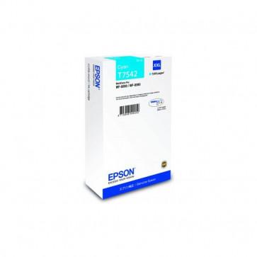 Originale Epson C13T754240 Cartuccia inkjet resa ultra alta T7542XXL  ciano