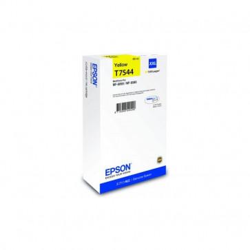 Originale Epson C13T754440 Cartuccia inkjet resa ultra alta T7554XXL  giallo