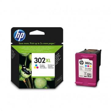 Originale HP F6U67AE Cartuccia inkjet alta resa 302XL  3 colori