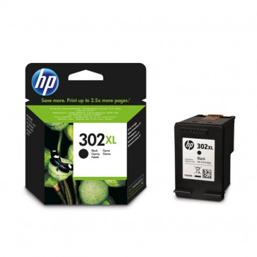 Originale HP F6U68AE Cartuccia inkjet alta resa 302XL  nero