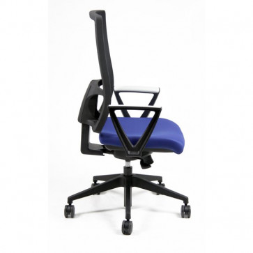 Sedia semidirezionale ergonomica NEREIDE UNISIT - ignifugo - ROSSO - NDAE/IR