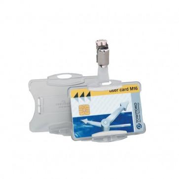 Portabadge per carte magnetiche Durable 5,4x8,5 cm 8118-19 (conf.25)