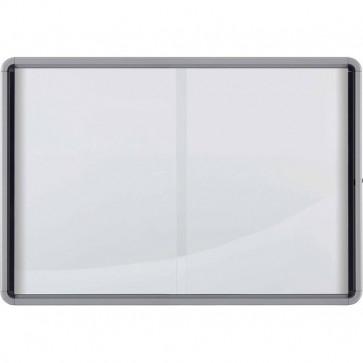 Bacheca per interni Nobo ante scorrevoli 12xA4 97x5,4x100 cm orizzontale 1902570