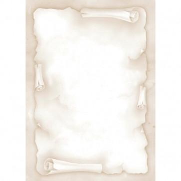 Carta a tema Decadry pergamena avorio 90 g TSC-6720 (conf.20)
