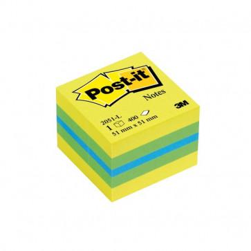 Post-it® Minicubi 51x51 mm giallo 2051-L