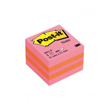 Post-it® Minicubi 51x51 mm rosa 2051-P