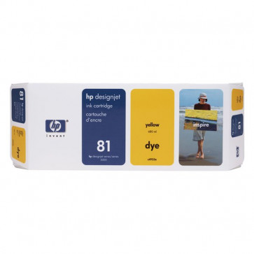 Originale HP C4933A Cartuccia inkjet dye 81 giallo