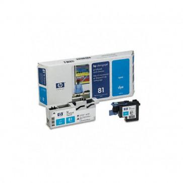 Originale HP C4951A Testina di stampa dye + dispositivo di pulizia 81 ciano