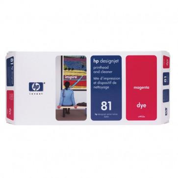 Originale HP C4952A Testina di stampa dye + dispositivo di pulizia 81 magenta