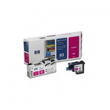 Originale HP C4962A Testina di stampa UV + dispositivo di pulizia 83 magenta