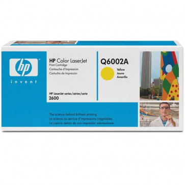 Originale HP Q6002A Toner giallo