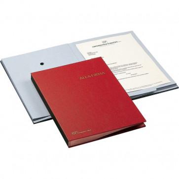 Libro Firma 18 intercalari Fraschini rosso 618-A