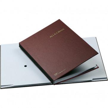 Libro Firma 14 intercalari Fraschini rosso 614-A