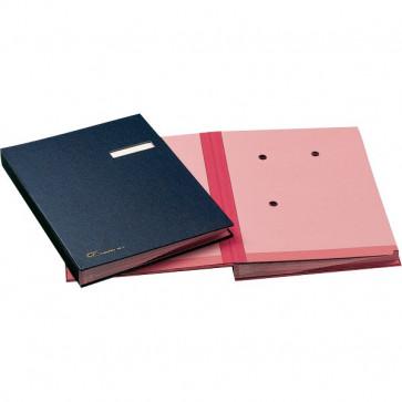 Libro firma 18 intercalari Fraschini blu 618-D