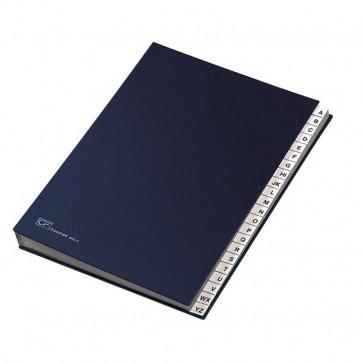 Classificatore alfabetico A-Z Fraschini blu 640-E