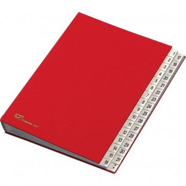 Classificatore numerico 1-31 Fraschini rosso 643-D