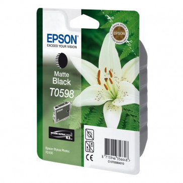 Originale Epson C13T05984010 Cartuccia inkjet ink pigmentato blister RS ULTRACHROME K10 nero opaco