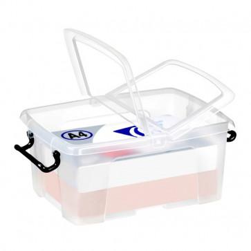 Contenitori con coperchio Smart Box Strata 30x22,5x18,2 cm 6 l HW670