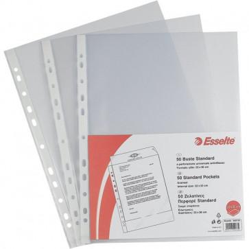 Buste a foratura universale Copy Safe Esselte Standard 22x30 cm goffrata 392597300 (conf.25)