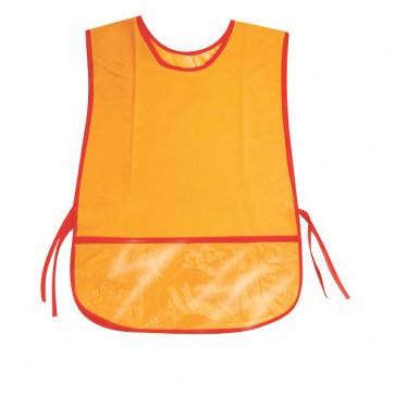 Grembiulini per bambini CWR Senza maniche 50x34 cm arancione 06962