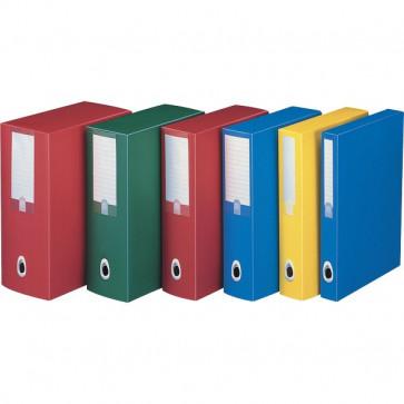 Scatole progetto Plus Fellowes Dorso 10 25,5x35,5 cm rosso U210RO (conf.5)