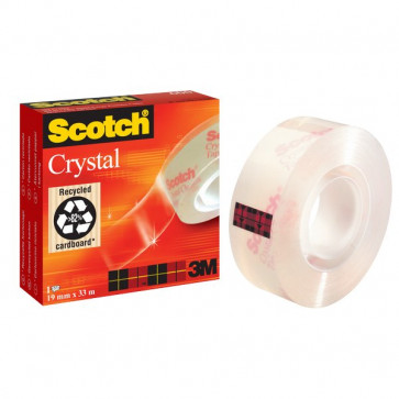 Nastro Crystal supertrasparente Scotch® 600 19 mm x 33 m 600-1933