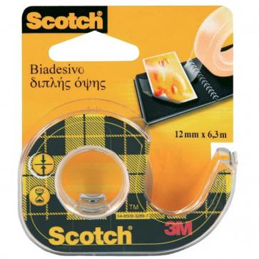 Chiocciola ricaricabile nastro biadesivo Scotch® 665 12 mm x 6,3 m 665-136D