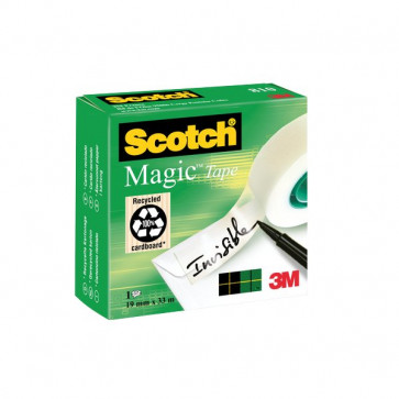 Nastro adesivo Scotch® Magic™ 810 19 mm x 33 m 810-1933