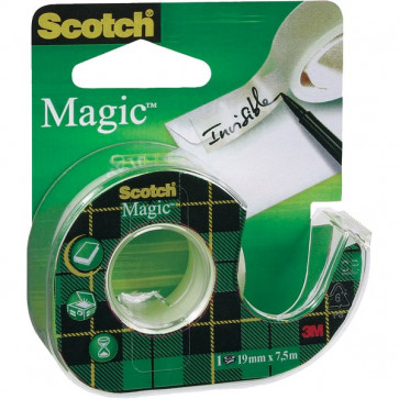 Nastro adesivo Scotch® Magic™ 810 Chiocciola ricaricabile 19 mm x 7,5 m 8- 8-1975 D/89511