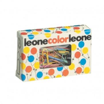 Fermagli colorati Leone Color Dell'Era Scatola con finestra N 4 32 mm FX5 (conf.50)